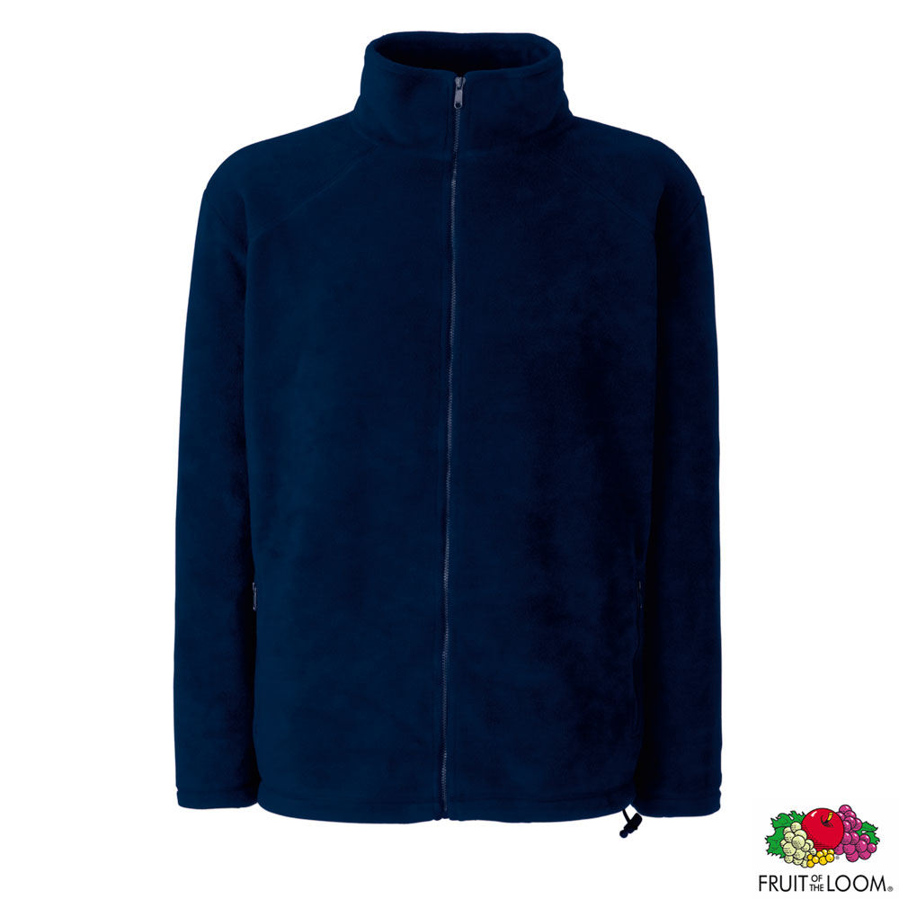 Толстовка 'Full Zip Fleece' L (Fruit of the Loom)