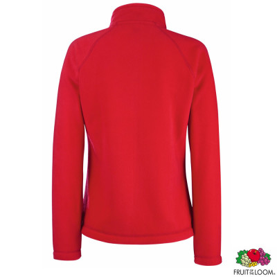 Толстовка 'Lady-Fit Full Zip Fleece' M (Fruit of the Loom)
