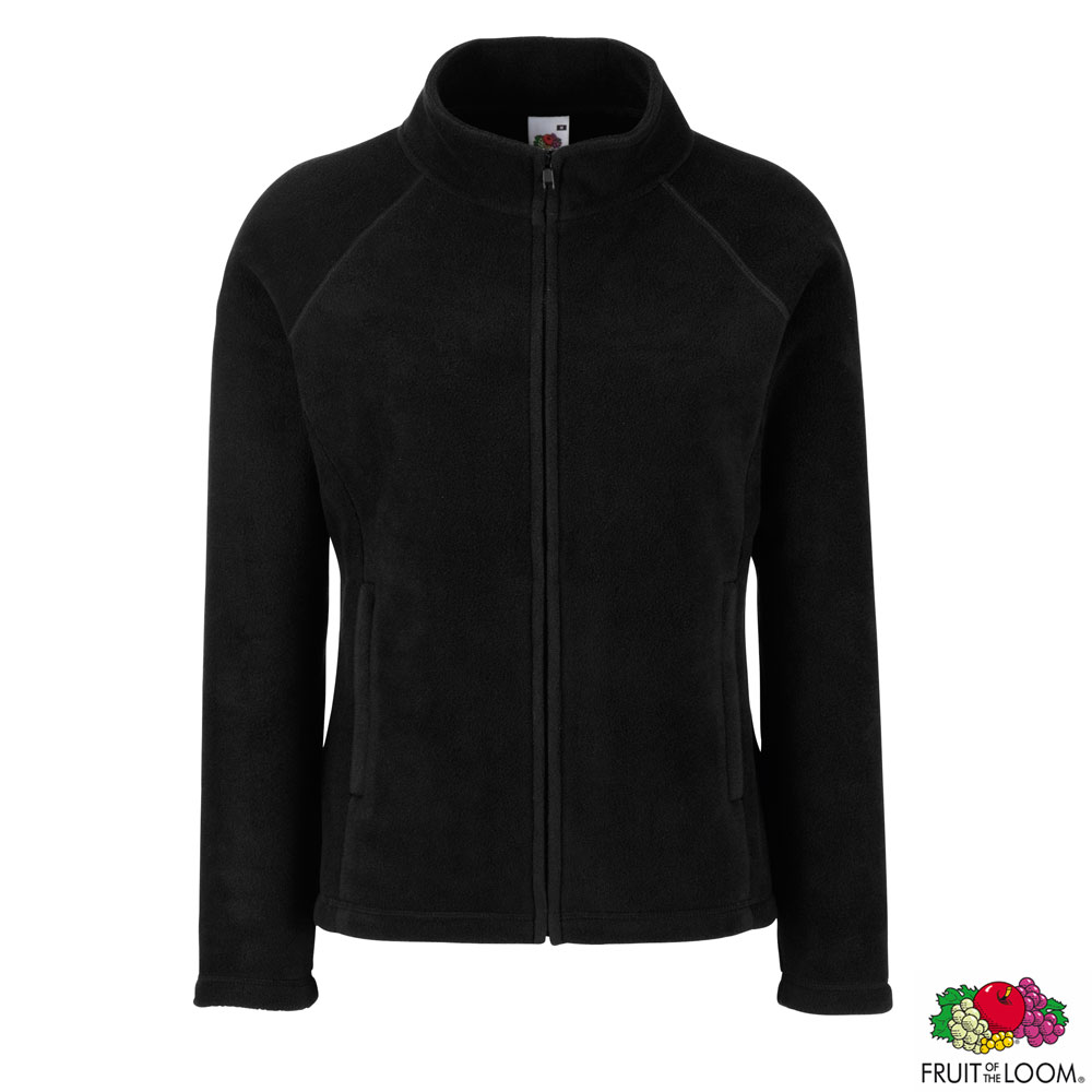 Толстовка 'Lady-Fit Full Zip Fleece' L (Fruit of the Loom)