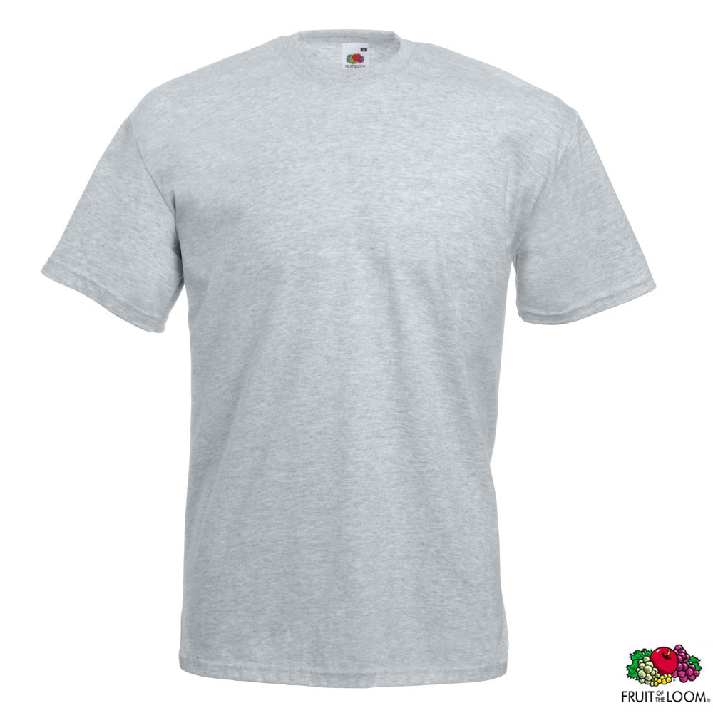 Футболка 'Valueweight T' 2XL (Fruit of the Loom), 165 гр/м2