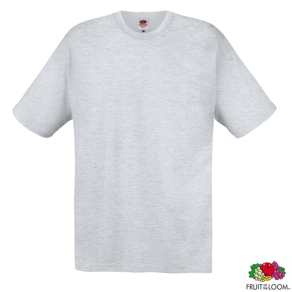 Футболка 'Original T' 2XL (Fruit of the Loom), 145 гр/м2