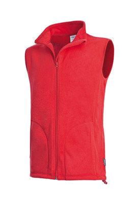 Мужской флисовый жилет Stedman Active Fleece Vest Men, арт.5010 SRE, размер S